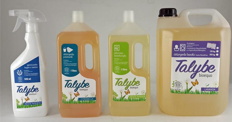 Detergenti naturali per la pulizia della casa